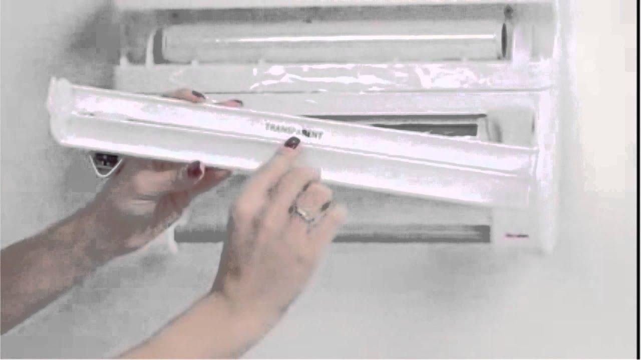 Aluminum Foil, Paper Roll Dispenser + Storage Rack (4 In 1)   YouTube