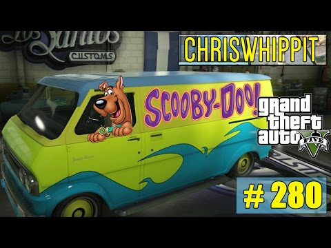 GTA 5 Online med SoftisFFS  Pimpar Scooby-Doo Van  280