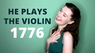 He Plays the Violin - 1776 | Lucy Appleton