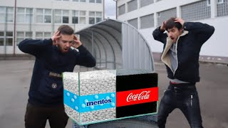 Eksperiment: Coca Cola VS Mentos