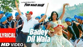 badey Dilwala [Full Song] Tees Maar Khan | Katrina Kaif, Akshay Kumar