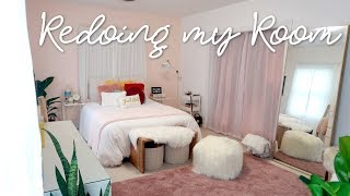 Redoing My Room! EPIC Room Transformation!!! ♡ Abigail
