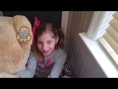 Mom buys Ella and Catherine-Pippa each a HUGE GIGANTIC TEDDY BEAR!!! from YouTube · Duration:  1 minutes 45 seconds