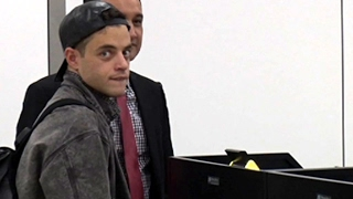 Mr Robot Star Rami Malek Looking Cool At LAX