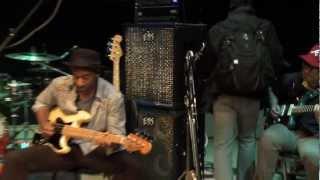 Marcus Miller in rehearsal for spri...