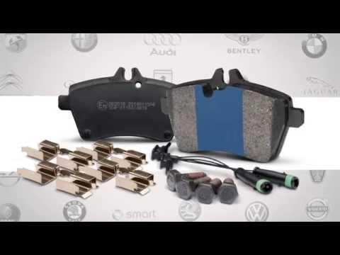 Euro+ The Complete European Brake Pad Kit