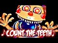 """Count The Teeth"" - FNaF Help Wanted Song by NateWantsToBattle [FNAF ANIMATED LYRIC VIDEO]"