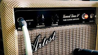 Artist Guitars: Tweed Tone V 5W Tube Amplifier