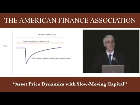 Asset Price Dynamics With Slow‐Moving Capital