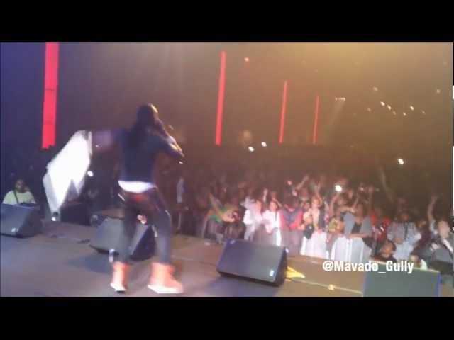 Mavado Hope and Pray: European Tour: Paris: April 2012