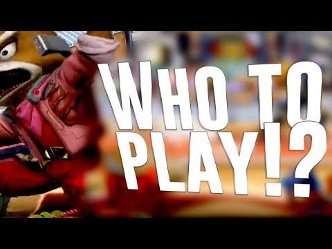 Who to play!? - Armada plays Random characters!