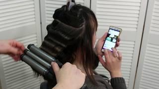 Локоны тройной плойкой для волос .ТРОЙНАЯ ПЛОЙКА- BaByliss PRO