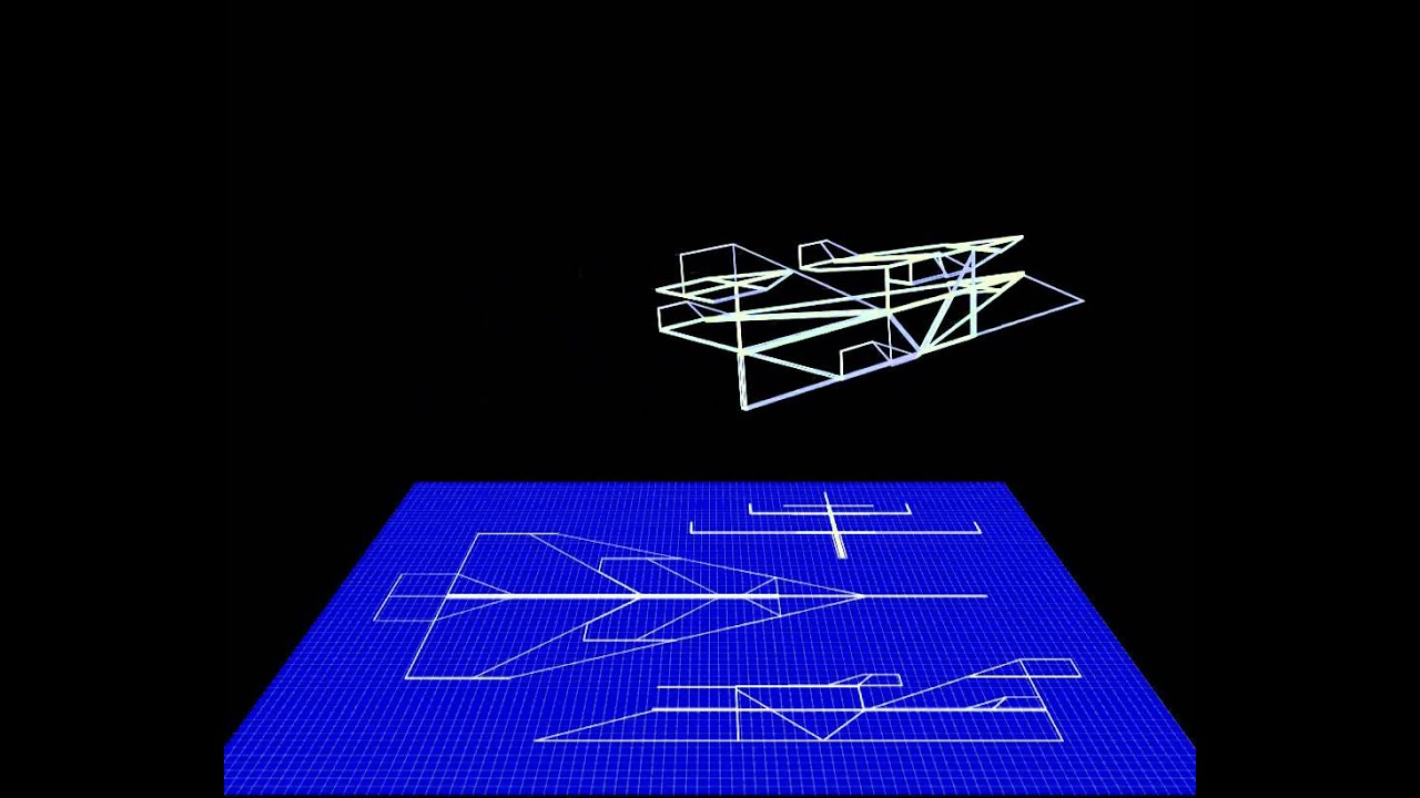Paper airplane blueprint animation youtube malvernweather Choice Image