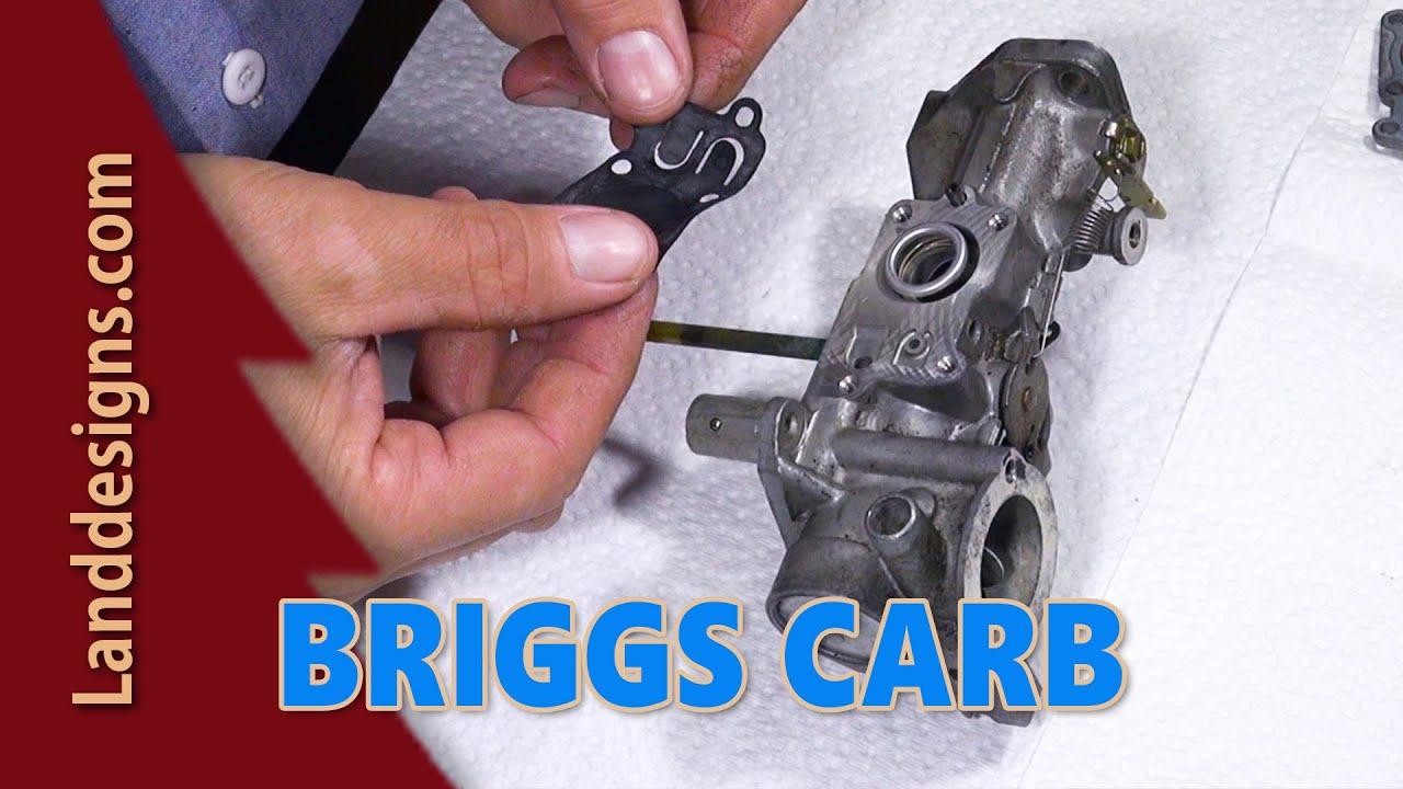 Array - briggs carb rebuild   youtube  rh   youtube com