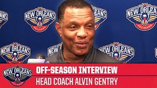 Alvin Gentry, 'I love the city, I love our fans, I love our team' | Off-Season Interview