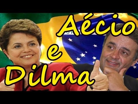 Aécio e Dilma - Paródia Eduardo e Mônica (Legião Urbana) - Eleições 2014