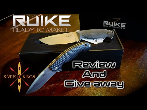Ruike Knife Review and Give-away!