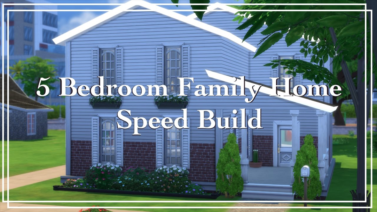 The Sims 4 S D Build 5 Bedroom Family Home