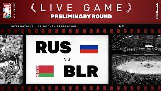 Russia - Belarus | Live | Group A | 2021 IIHF Ice Hockey World Championship
