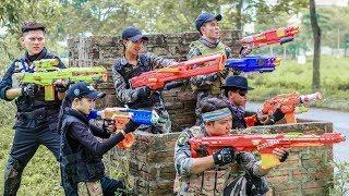 LTT Nerf War : SEAL X Warriors Nerf Guns Fight Criminal Group Dr Lee End Game