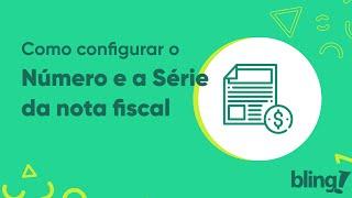 Numero de serie nota fiscal