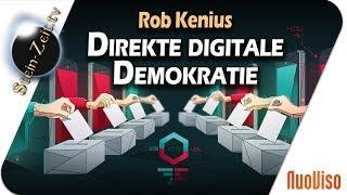 Direkte Digitale Demokratie - Rob Kenius bei SteinZeit