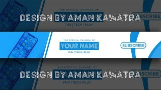 [FREE] Clean Tech Banner Template | Photoshop CC