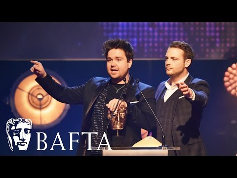Sam & Mark win Presenter | BAFTA Children's Awards 2015