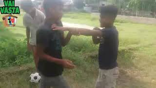 Funny fighting vedio | Most funny video | village boys fight