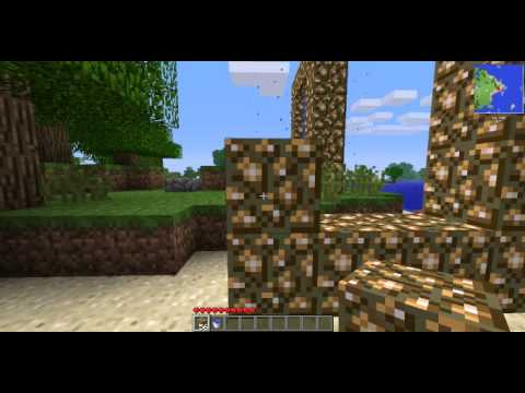 Minecraft faire un portail ver l 39 aether le paradis youtube - Faire un lit minecraft ...