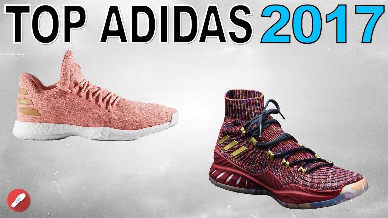 b14b4ce12f7 Top 5 Adidas Basketball Shoes of 2017! - YouTube
