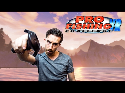 VR Fishing Game! | Pro Fishing Challenge VR - HTC Vive Gameplay