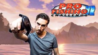 VR Fishing Game! | Pro Fishing Challenge VR - HTC Vive Gameplay