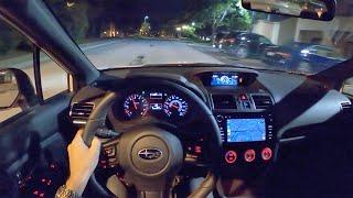 2020 Subaru WRX Limited Series.White - POV Night Drive/Final Thoughts