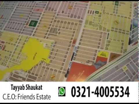 DHA Phase 7 Lahore location & possession and non possession plots prices update 2017 by jaidad