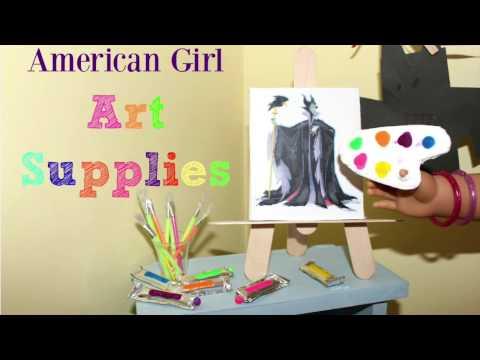 Doll Art Supplies | DIY American Girl Doll Crafts