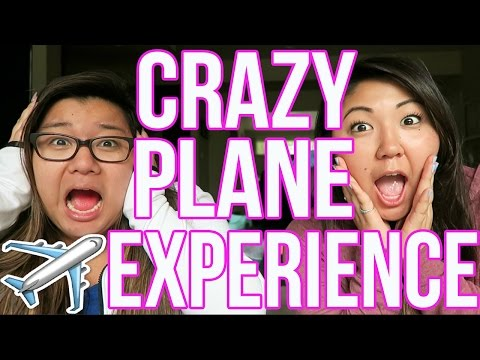 CRAZY PLANE EXPERIENCE!! STORYTIME