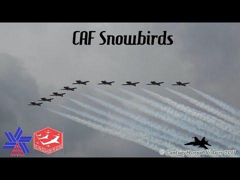 Canadian International Air Show 2017- CAF Snowbirds and Closing