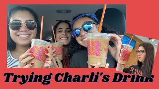 Reviewing &quotthe Charli&quot Dunkin Donuts Drink  CavsTV