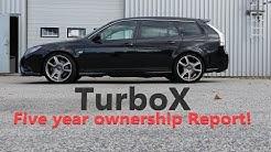 SAAB Turbo X Five Year Ownership Report