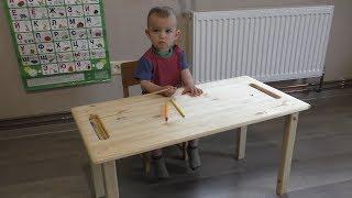 видео Столик своими руками: журнальный, детский, складной