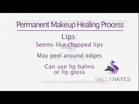Permanent Makeup Aftercare