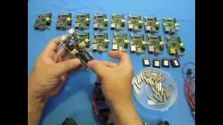 Raspberry Pi cluster(16nodes) making
