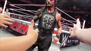 WWE RAW 5/18/15 ROW 3 (Richmond, VA) | Brandon Hodge Vlog #7