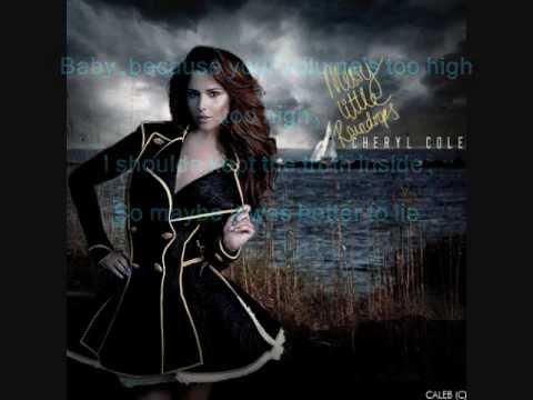 Cheryl Cole Lyrics -  Better To Lie