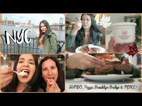 NEW YORK VLOG: DUMBO, PIZZA, BROOKLYN BRIDGE & MORE!
