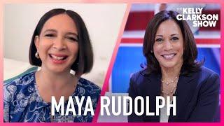 Maya Rudolph 'Proud' To Play VP Kamala Harris On 'SNL'