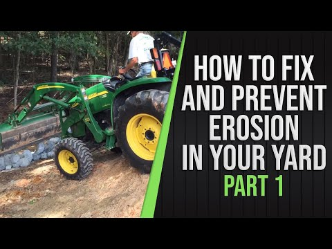 Part 1 - How to fix and prevent erosion in your yard