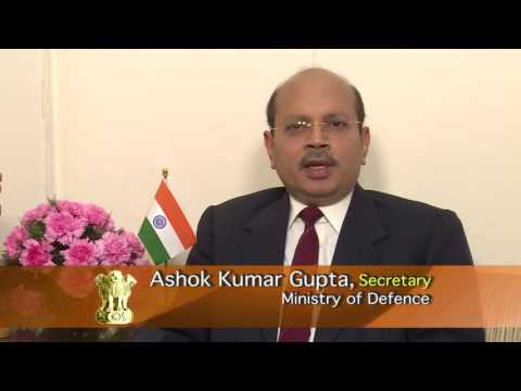 Ashok Kumar Gupta, Secretary, Ministry of Defence(Dept of De