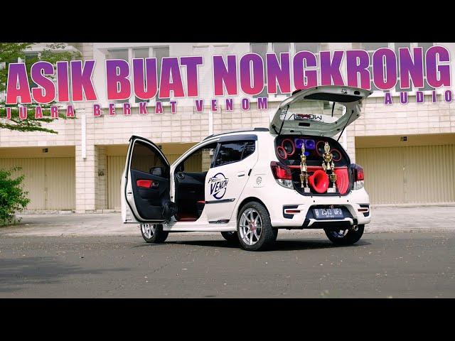 Modif Daihatsu Ayla 1.2 Yang Asik Buat Nongkrong | Audio Mobil by Venom